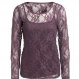 fioletowa bluzka Kappahl - moda jesień/zima 2010