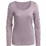 fioletowa bluzka Kappahl - moda zimowa
