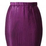fioletowa spódnica H&M dopasowana - lato 2012