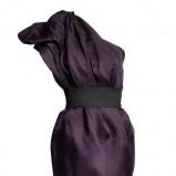 fioletowa sukienka H&M - jesień/zima 2010/2011