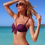fioletowe bikini Victorias Secret - wiosna/lato 2011