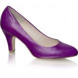 fioletowe pantofle Vagabond na obcasie - z kolekcji wiosna-lato 2012