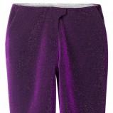 fioletowe spodnie H&M błyszczące - lato 2012