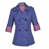 fioletowy płaszczyk Troll - trendy 2012
