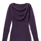 fioletowy sweter Mohito - kolekcja jesienno-zimowa