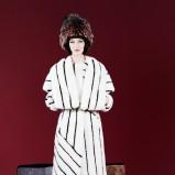 futro Fendi w kolorze białym - moda 2013/14
