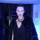 futro w kolorze czarnym - Sylwia Gliwa