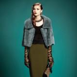 futrzana narzutka Gucci - jesienne trendy 2013