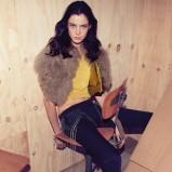 futrzana narzutka Patrizia Pepe - moda na jesień 2013