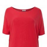 gładki tunika Solar w kolorze czerwonym - kolekcja 2013