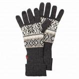 grafitowe rękawiczki Jackpot we wzory - kolekcja jesienno-zimowa