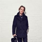 grafitowy płaszcz Big Star - zima 2011/2012