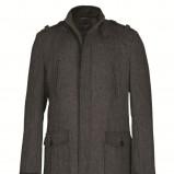 grafitowy płaszcz Top Secret - z kolekcji jesień-zima