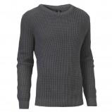 grafitowy sweter Cottonfield - kolekcja jesienno-zimowa