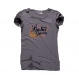 grafitowy t-shirt Big Star z nadrukiem - lato 2011