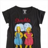 grafitowy t-shirt House z nadrukiem - moda jesień/zima