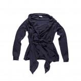 granatowa bluzka Big Star z pasem - jesień/zima 2011/2012