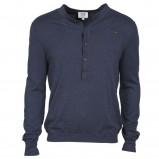 granatowa bluzka Cottonfield z guzikami - moda wiosna/lato