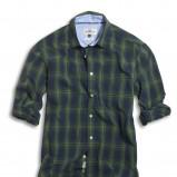 granatowa koszula Kappahl w kratkę - moda 2010
