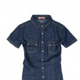 granatowa koszula Moodo  - kolekcja wiosenno-letnia