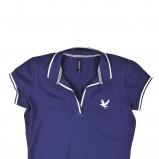 granatowa koszulka Reporter polo - kolekcja wiosenno/letnia