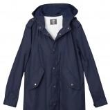 granatowa kurtka H&M - wiosenna kolekcja