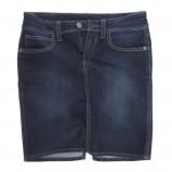 granatowa spódnica Big Star z kieszeniami dżinsowa - sezon jesienno-zimowy