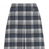granatowa spódnica Marks & Spencer w kratkę - jesień/zima 2010/2011
