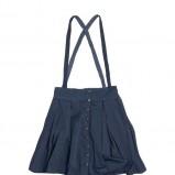 granatowa spódnica Pull and Bear - z kolekcji wiosna-lato 2011