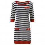 granatowa sukienka Henri Lloyd w paski - kolekcja na lato