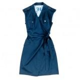 granatowa sukienka Hexeline - lato 2011