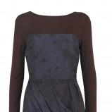 granatowa sukienka Marks & Spencer - jesień/zima 2010/2011