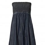 granatowa sukienka s.Oliver dżinsowa - moda 2010