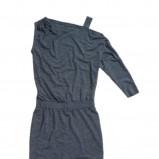 granatowa sukienka Tatuum - moda zimowa