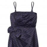 granatowa sukienka wieczorowa Reserved
