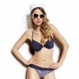 granatowe bikini Esotiq - stroje kapielowe 2013