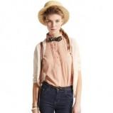 granatowe dżinsy Pull and Bear - moda 2011