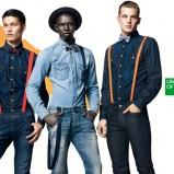 Granatowe i niebieskie koszule jeansy  z kolekcji jesienno- zimowej 2012/13