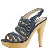 granatowe sandały Pilar Abril Sicilia - kolekcja letnia