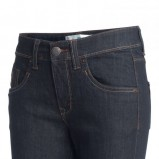 granatowe spodnie KappAhl cygaretki - moda wiosna/lato