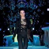 Granatowe spodnie Pretty One - Itakas Holiday Party by Moda&Styl