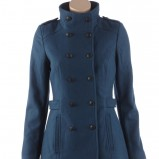 granatowy płaszcz Camaieu - moda na jesień i zimę 2013/14