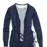 granatowy sweter Geox - trendy wiosna-lato