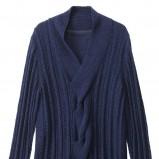 granatowy sweter H&M - wiosna 2012
