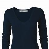 granatowy sweter Top Secret - moda jesień/zima 2010