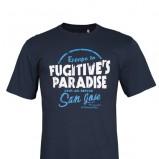 granatowy t-shirt Troll z nadrukiem - kolekcja wiosenno/letnia
