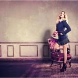 granatowy żakiet Tally Weijl - trendy na jesień-zimę