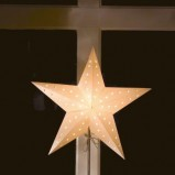 Grudniowa lampka w kształcie gwiazdki  - świateczne propozycje JULA