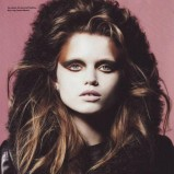 i-D Magazine grudzień 2009 - Abbey Lee Kershaw
