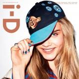 i-D Magazine sierpień 2012 - Cara Delevingne